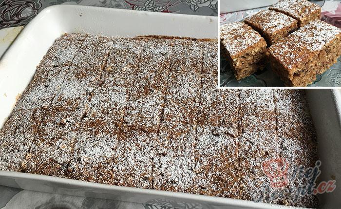 Fantastický zdravý koláček, který sníte bez výčitek, že přiberete