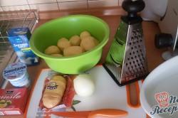 Příprava receptu Křehoučká kuřecí prsa s bramborovou přílohou, krok 9