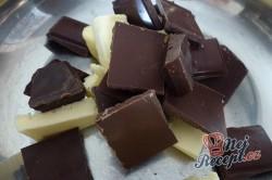 Příprava receptu Banány v tvarohovo čokoládové náplni - FOTOPOSTUP, krok 4