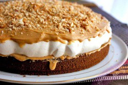 Příprava receptu SNICKERS dort - fotopostup, krok 8