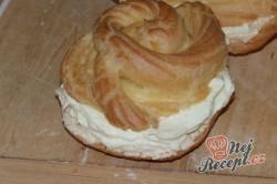 Příprava receptu Nejlepší větrníky s vanilkovým a karamelovým krémem, krok 18