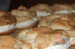 Příprava receptu Nejlepší větrníky s vanilkovým a karamelovým krémem, krok 23