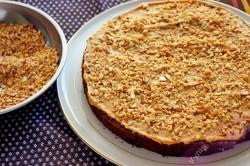 Příprava receptu SNICKERS dort - fotopostup, krok 7