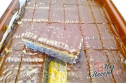 Příprava receptu Makové kostky s vanilkovým krémem, krok 3