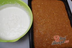 Příprava receptu Pudinkovo-jablkové řezy (FOTOPOSTUP), krok 15