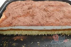 Příprava receptu Pudinkovo-jablkové řezy (FOTOPOSTUP), krok 20