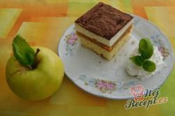 Příprava receptu Pudinkovo-jablkové řezy (FOTOPOSTUP), krok 23