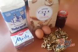 Příprava receptu Křehké sušenky jednoočko, krok 1