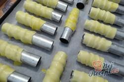 Příprava receptu Domácí křehké trubičky s italským sněhem, krok 2