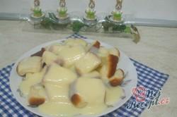 Příprava receptu Dukátové buchtičky se žloutkově vanilkovým krémem, krok 6