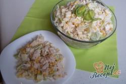 Příprava receptu Celerový salát s ananasem a pórkem, krok 6