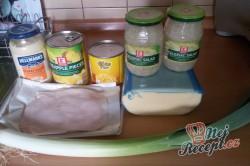 Příprava receptu Celerový salát s ananasem a pórkem, krok 1