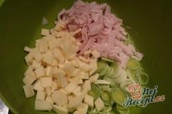 Příprava receptu Celerový salát s ananasem a pórkem, krok 2