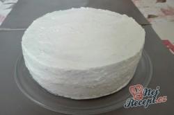 Příprava receptu Kokosový dort s Rafaello kuličkami - FOTOPOSTUP, krok 8