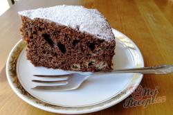 Příprava receptu Čokoládový dort s kousky banánů, krok 4