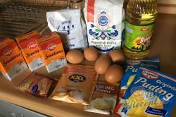 Příprava receptu Balkánský jablečný koláč, krok 1