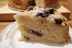 Příprava receptu Jablečný koláč ze zakysané smetany s rozinkami, krok 10
