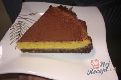Příprava receptu FITNESS nepečený mangový dort, krok 12