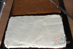 Příprava receptu Zdravější zákusek KRÁLÍČEK s mascarpone krémem a oříšky, krok 14