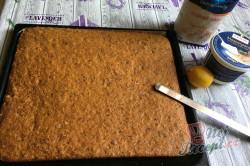 Příprava receptu Zdravější zákusek KRÁLÍČEK s mascarpone krémem a oříšky, krok 10