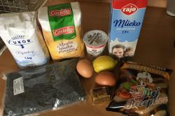Příprava receptu Mini záviny z bílého jogurtu s makovou náplní, krok 1