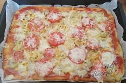 Příprava receptu Fantastická domácí pizza bez droždí (bez kynutí), krok 10