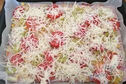 Příprava receptu Fantastická domácí pizza bez droždí (bez kynutí), krok 9