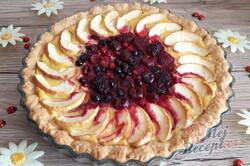 Příprava receptu Křehký koláč s vanilkovým krémem a ovocem, krok 1