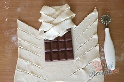 Příprava receptu Expresní čokoládová fantazie v listovém těstě, krok 4