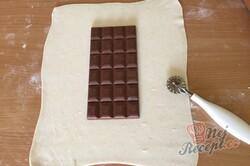 Příprava receptu Expresní čokoládová fantazie v listovém těstě, krok 3