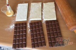Příprava receptu Expresní čokoládová fantazie v listovém těstě, krok 2
