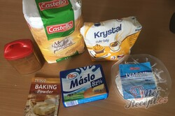 Příprava receptu Rychlé a křehké tvarohové mini rolky, krok 1
