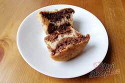 Příprava receptu Vláčné muffiny ZEBRA, krok 3