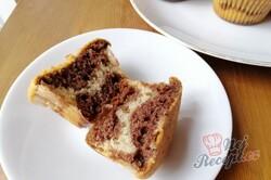 Příprava receptu Vláčné muffiny ZEBRA, krok 4
