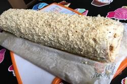 Příprava receptu Karamelová báseň - rychlá a vynikající salko roláda, krok 15