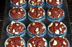 Příprava receptu Nutellové muffiny připravené za 5 minut, krok 6