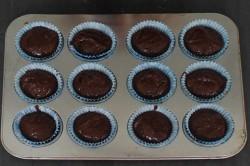 Příprava receptu Nutellové muffiny připravené za 5 minut, krok 4