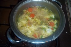 Příprava receptu Polévka zeleninová, krok 1