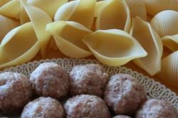 Příprava receptu Plněné mušle, krok 1