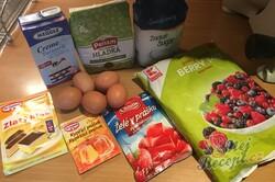 Příprava receptu Fantastické želé kostky s lesním ovocem, krok 1