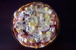Základní recept na pizza těsto, připravené za 5 minut, krok 1