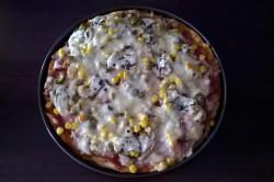 Základní recept na pizza těsto, připravené za 5 minut, krok 2