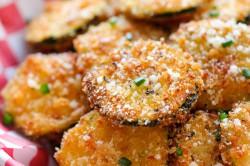 Příprava receptu Křupavé chipsy z cukety, krok 5