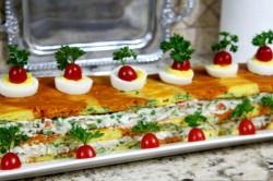 Příprava receptu Slaná chuťovka - ,,Ruský salát,,, krok 2