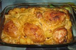 Příprava receptu Marinované kuřecí kousky zapečené v troubě, krok 3