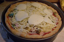 Příprava receptu Křupavá pizza Chicago, krok 5