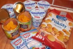 Příprava receptu Nepečený mandarinkový dort krok za krokem, krok 1