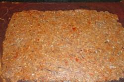 Příprava receptu Dvoubarevná masová roláda se slaninou, krok 1