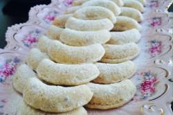 Příprava receptu Vanilkové rohlíčky s lískovými oříšky, krok 1