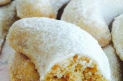 Příprava receptu Vanilkové rohlíčky s lískovými oříšky, krok 2